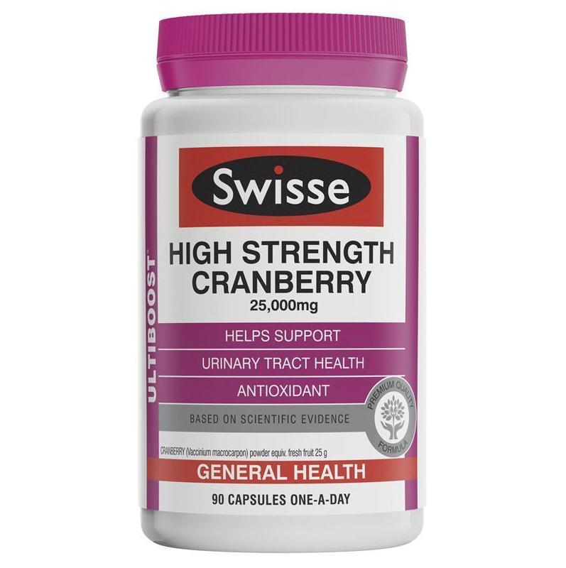 SWISSE ULTIBOOST 濃縮蔓越莓 90粒裝