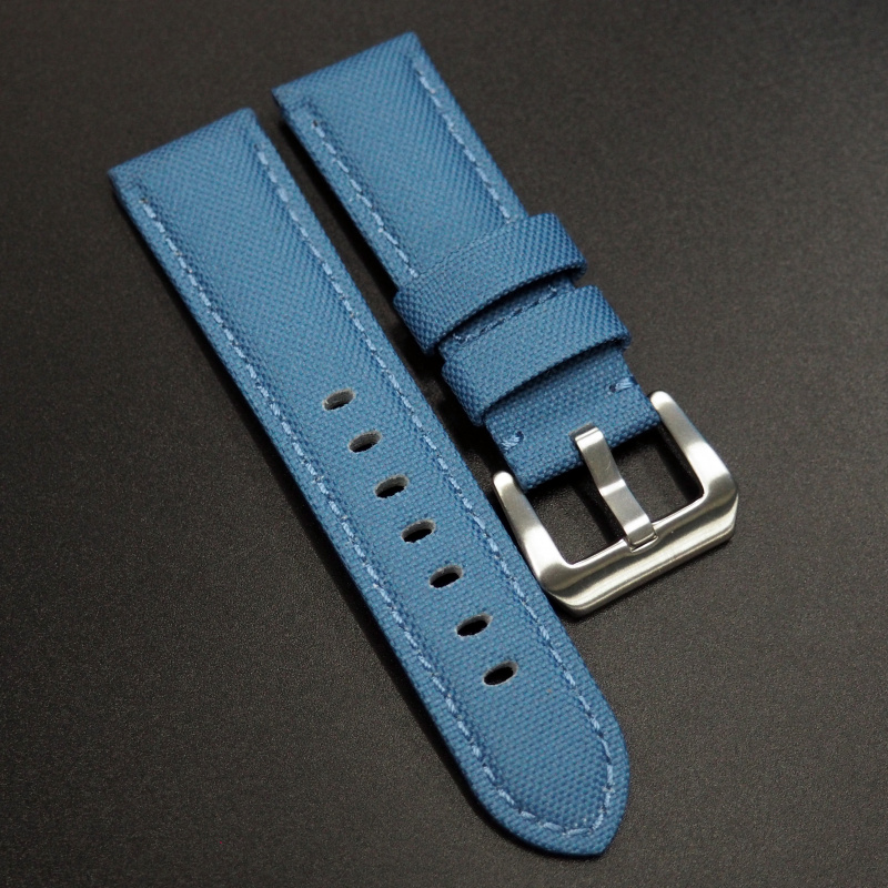 24mm Panerai 天藍色尼龍錶帶