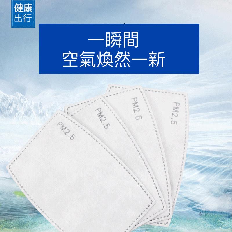 5層濾網PM2.5防護口罩墊-獨立1個包裝