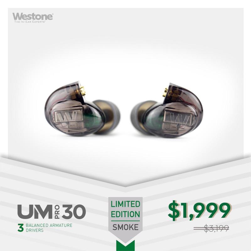 Westone UM PRO 30 (2017版)