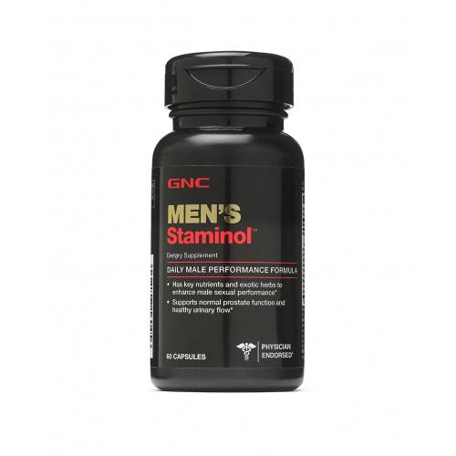 GNC MEN'S Staminol 男性體力持久配方 [60粒]