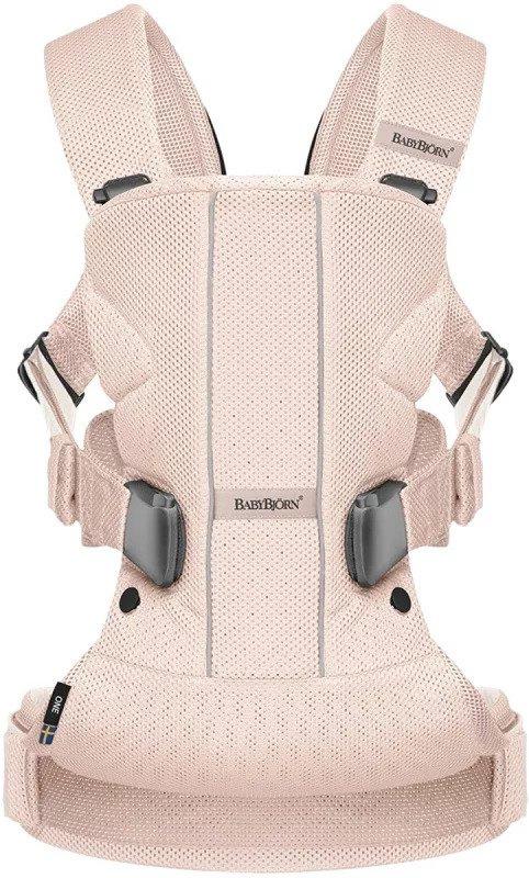 babybjorn carries one air 揹帶-power pink