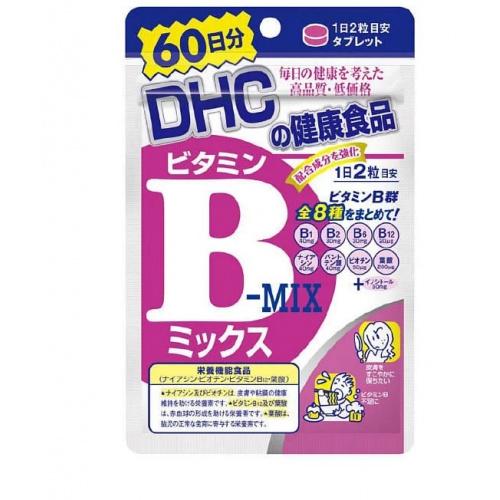 DHC 維他命B雜 補充食品120粒