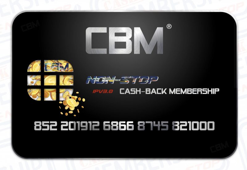 @CSDLHK • Cash-Back Membership - CBM會員卡系列(電子版)