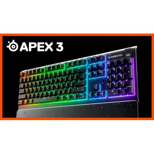 Steelseries Apex 3 防水靜音鍵盤