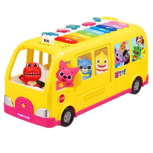 Pinkfong babyshark 碰碰狐唱歌音樂巴士-香港行貨