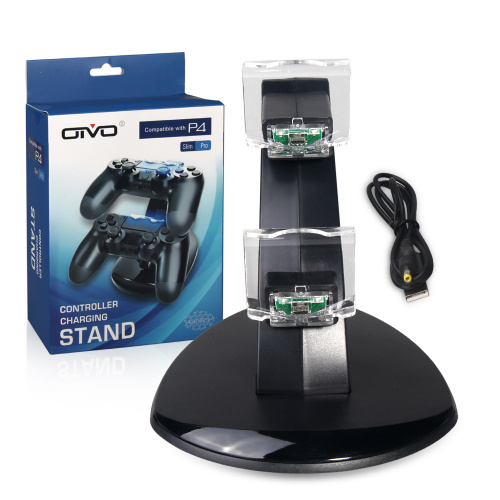 OIVO - 通用雙手柄帶燈充電座 for PlayStation4 Pro Slim IV-P4002S