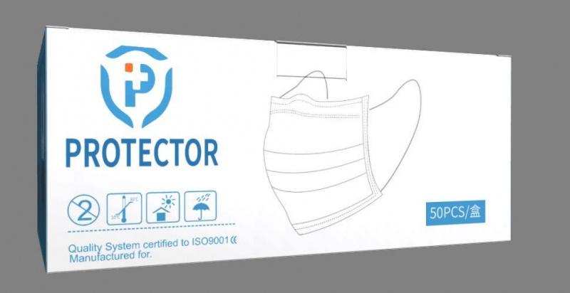 Protector 三層外科口罩 50個/盒 (非獨立包裝)