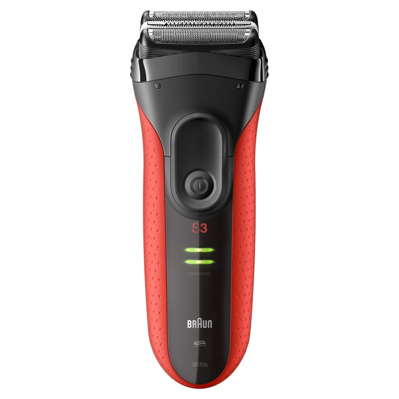 Braun Series 3 ProSkin 親膚系列 3030s 可充電電鬚刨(紅色)