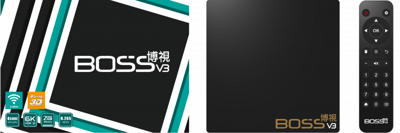 BossTV 博視 V3 電視盒子