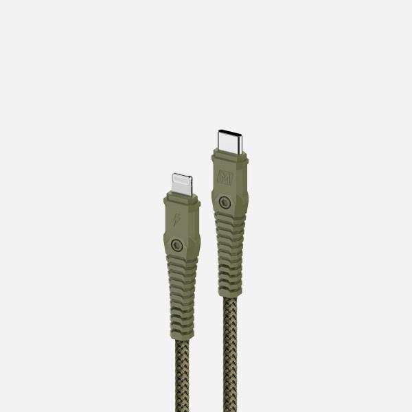 Momax Tough Link Lightning 至 Type-C 連接線 (1.2米)