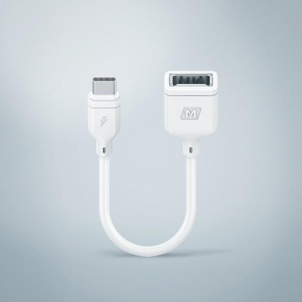 Momax Zero Type-C – USB 連接線 (15厘米)