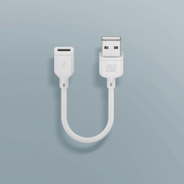 Momax Zero Type-C 至 USB-A 母頭 轉接線 (15厘米)