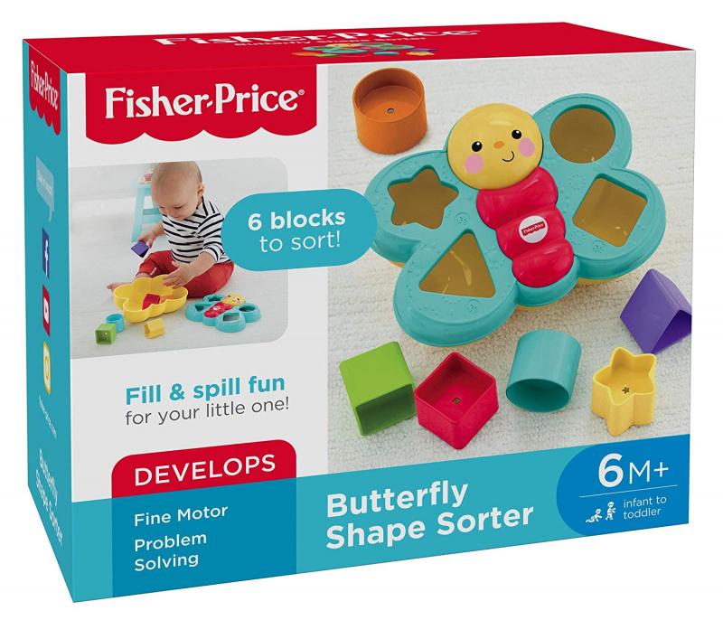 Fisher-Price 可愛蝴蝶 圖形學習
