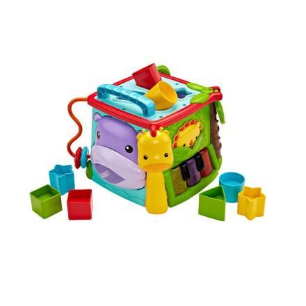 Fisher Price 可愛動物學習音樂積木盒