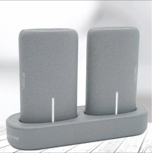 Twinstone 磁性充電座套裝 (5000mAh x2)