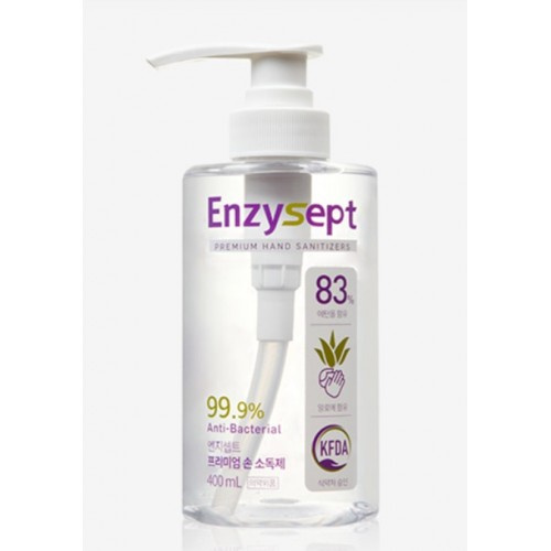 ENZYSEPT PREMIUM特級酒精消毒搓手液 400ML