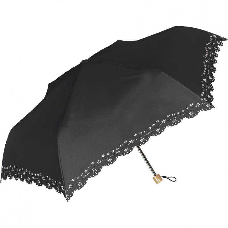 日本NATURAL BASIC晴雨兼用折傘 - Palasol 55cm