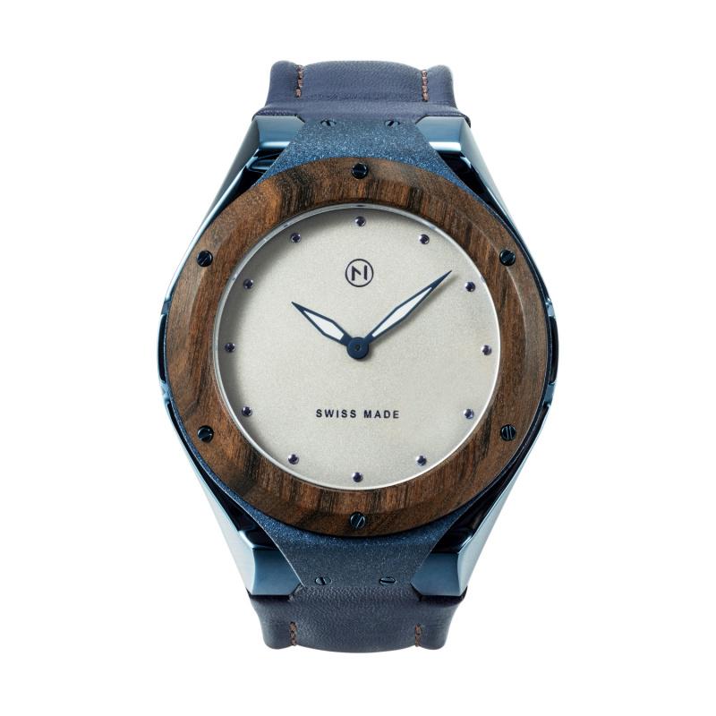 瑞士 NOVE Craftsman 系列 男士石英錶 藍色 D002-01