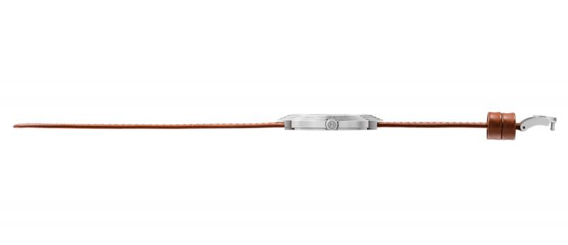 瑞士 NOVE Streamliner 系列 男士石英錶 (46mm 啡白色 A004-01)