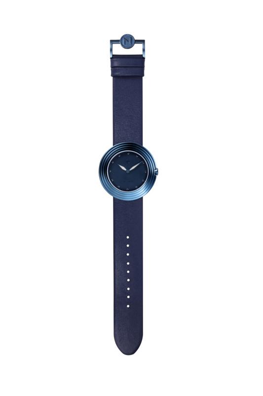 瑞士 NOVE Streamliner 系列 女士石英錶 (40mm藍色) [B010-01]