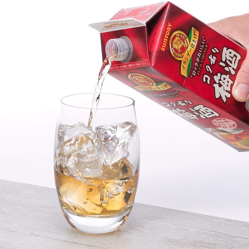 日版 Suntory三得利 白蘭地梅酒 紙盒裝1000ml【市集世界 - 日本市集】
