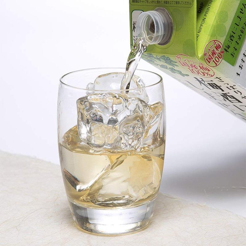 日版 Suntory三得利 低糖低卡路里極熟梅酒 紙盒裝2000ml【市集世界 - 日本市集】