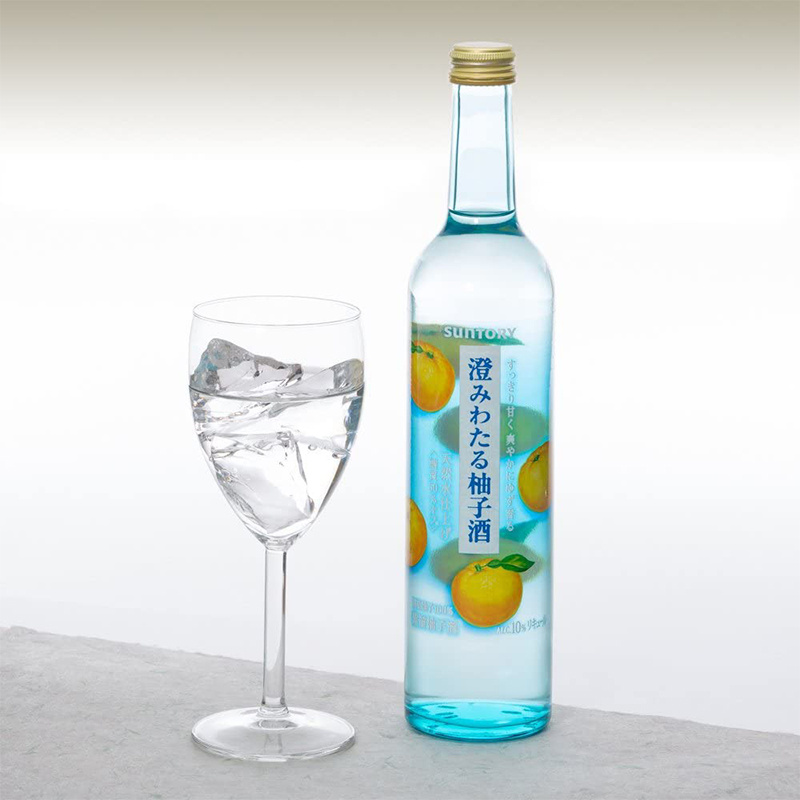 日版 Suntory三得利【清徹水藍】蒸溜柚子酒500ml【市集世界 - 日本市集】