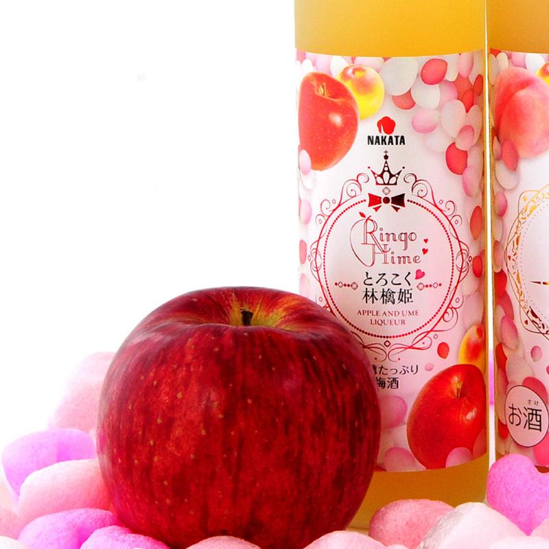 日版 中田《林檎美姫》蘋果 和歌山南高梅梅酒500ml【市集世界 - 日本市集】