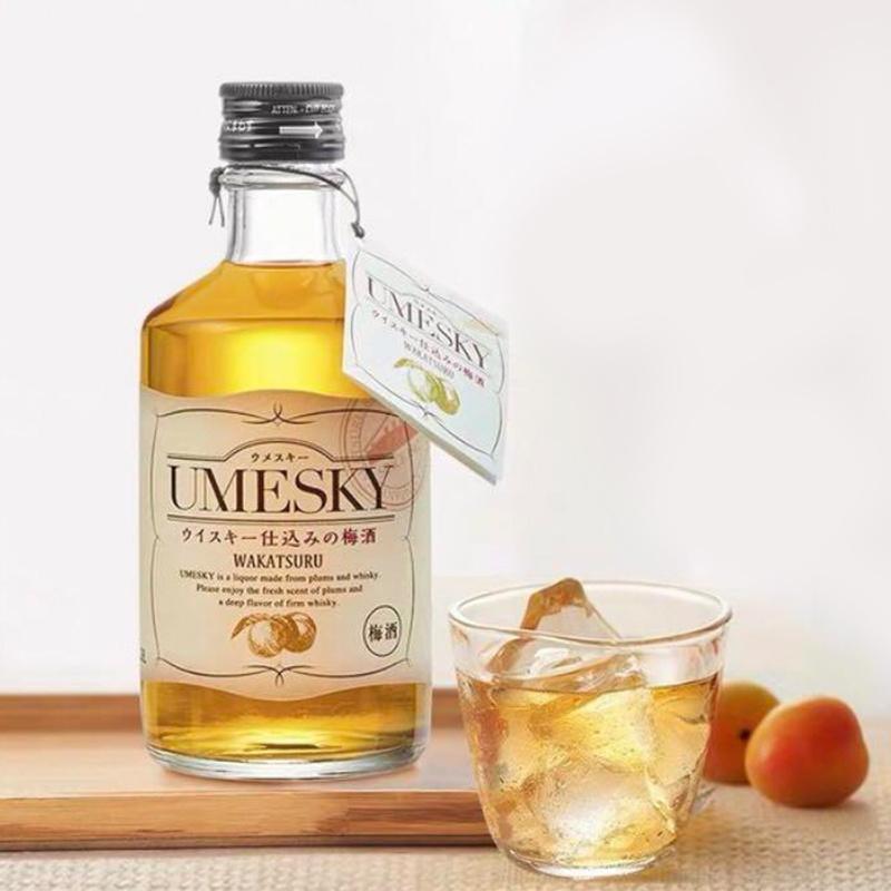 日版 若鶴 UMESKY 威士忌 梅酒 300ml【市集世界 - 日本市集】