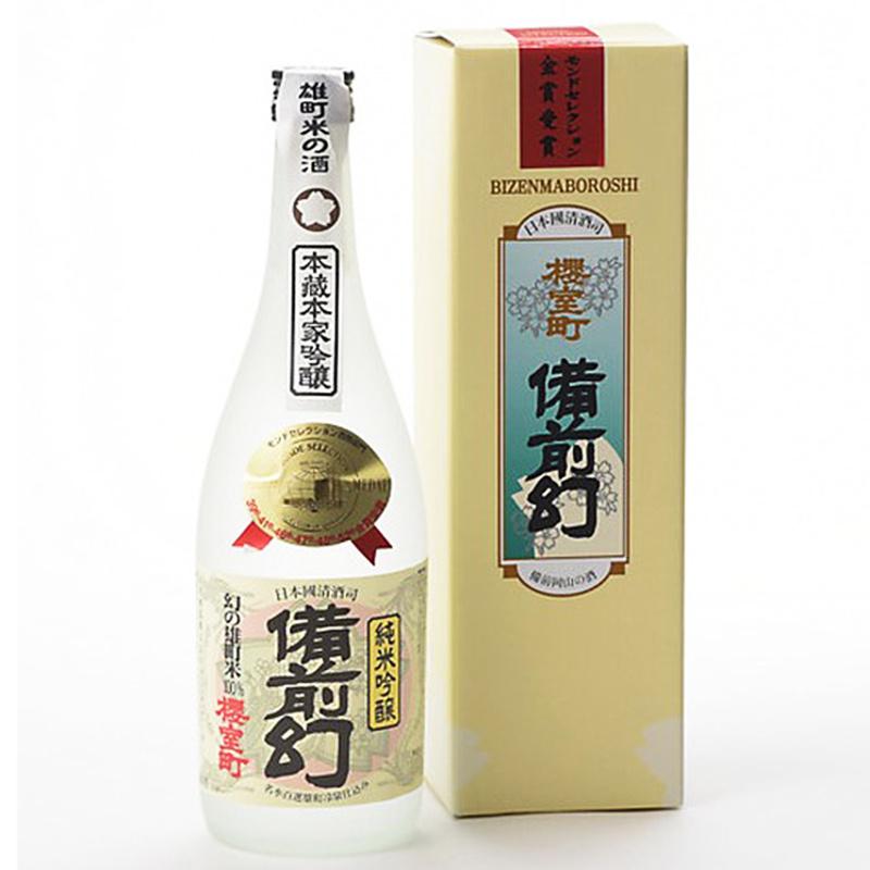 日版 櫻室町【備前幻】純米吟醸 清酒 720ml【市集世界 - 日本市集】