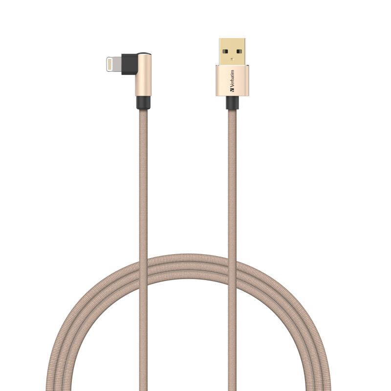 Verbatim L-Shaped Lightning to USB-A 充電傳輸線