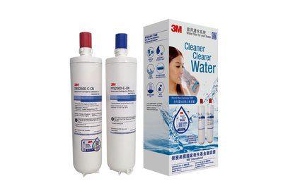 香港行貨 3M 智能淨水系統濾芯 DWS2500T-CN (前置及後置濾芯更換裝) [有雷射標籤]