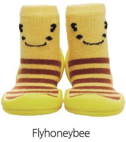 韓國-GGomoosin 嬰幼兒學行鞋 (Fly Honey Bee)