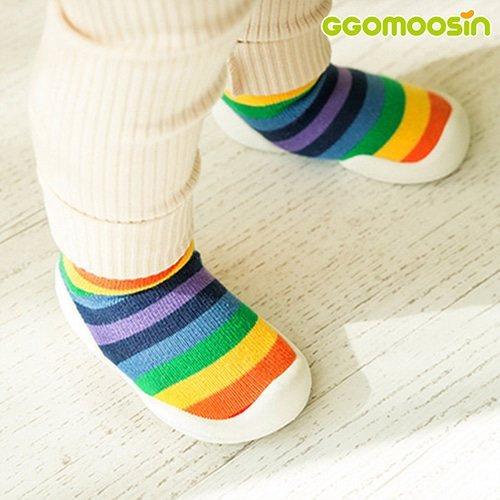 韓國-GGomoosin 嬰幼兒學行鞋 (Over The Rainbow)
