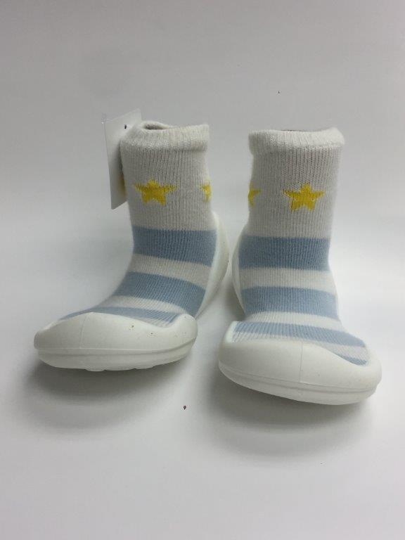 韓國-GGomoosin 嬰幼兒學行鞋 (Star Bling)
