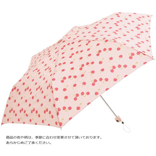 日本進口Water Front 防UV超輕折傘(車厘子)