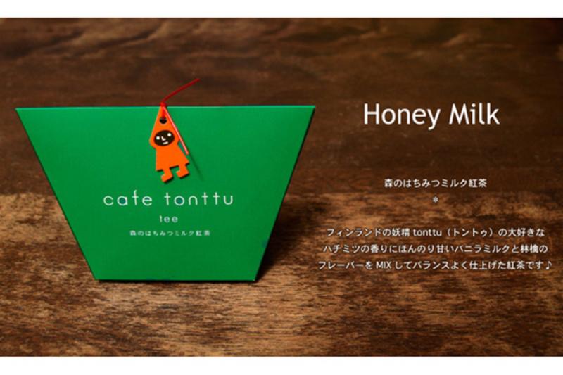 日版 Cafe tonttu 蘋果蜂蜜奶茶 5包【市集世界 - 日本市集】