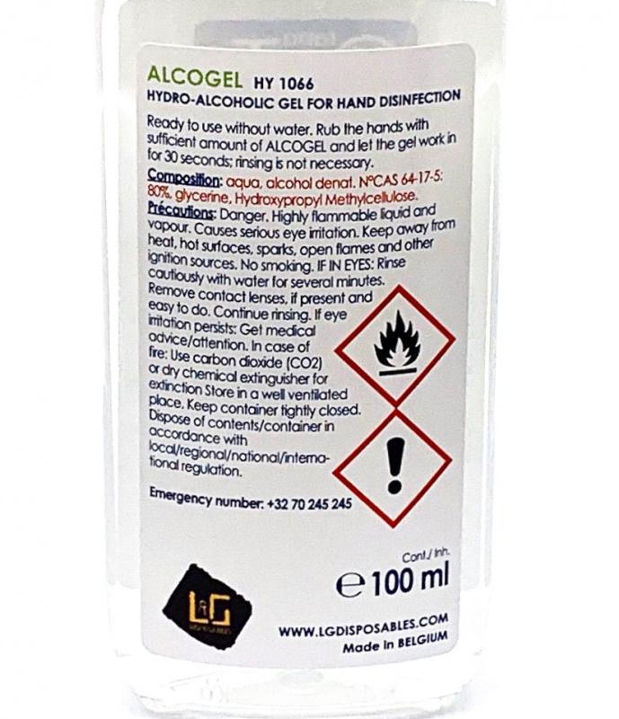 比利時 Labo WTC 免沖洗酒精搓手液(HY 1066) 100ML (3支/6支/12支)