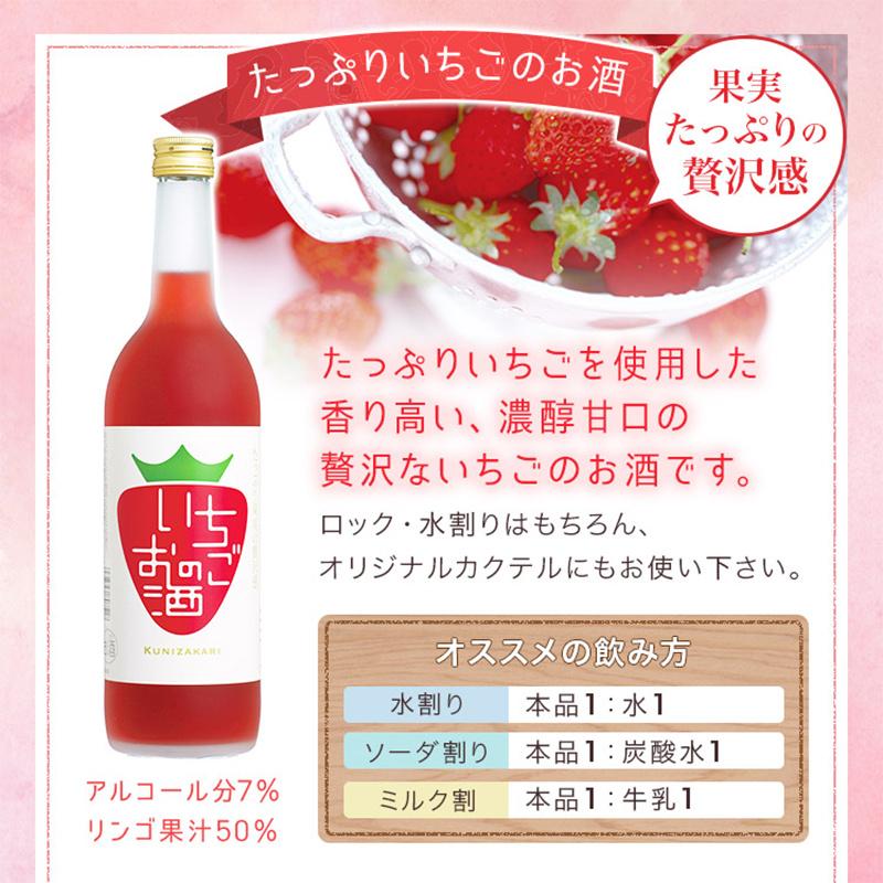 日版 國盛 草莓士多啤梨果實酒 720ml【市集世界 - 日本市集】