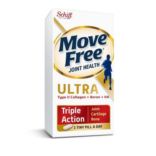 美國 Schiff Move Free 益節三重加強版 保護關節及軟骨 關節迷你丸 (含UC-II膠原蛋白及HA透明質酸) [75粒]