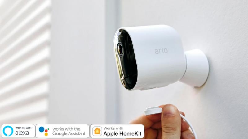 Arlo Pro 3 無線網絡攝影機 3 鏡套裝 (VMS4340P)