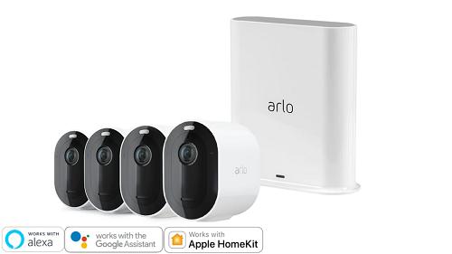 Arlo Pro 3 無線網絡攝影機 4 鏡套裝 (VMS4440P)