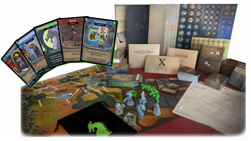 龍穴奪寶Legacy: 冒險隊 - Clank! Legacy: Acquisitions Incorporated