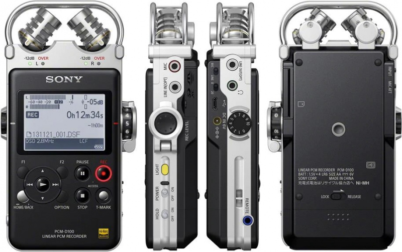 SONY PCM-D100 數碼錄音機