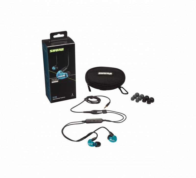 Shure SE215 入耳式隔音耳筒 [藍牙/有線版] [2色]