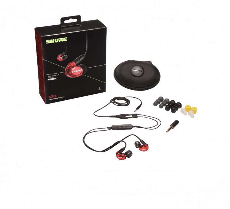 【快閃價 - 最後倒數3套】Shure SE535 BT2版三單元耳機 [2色]