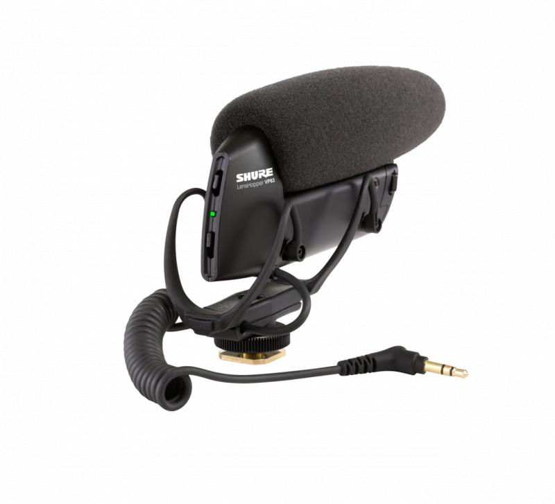 SHURE VP83 LensHopper 攝像機安裝槍式咪高峰
