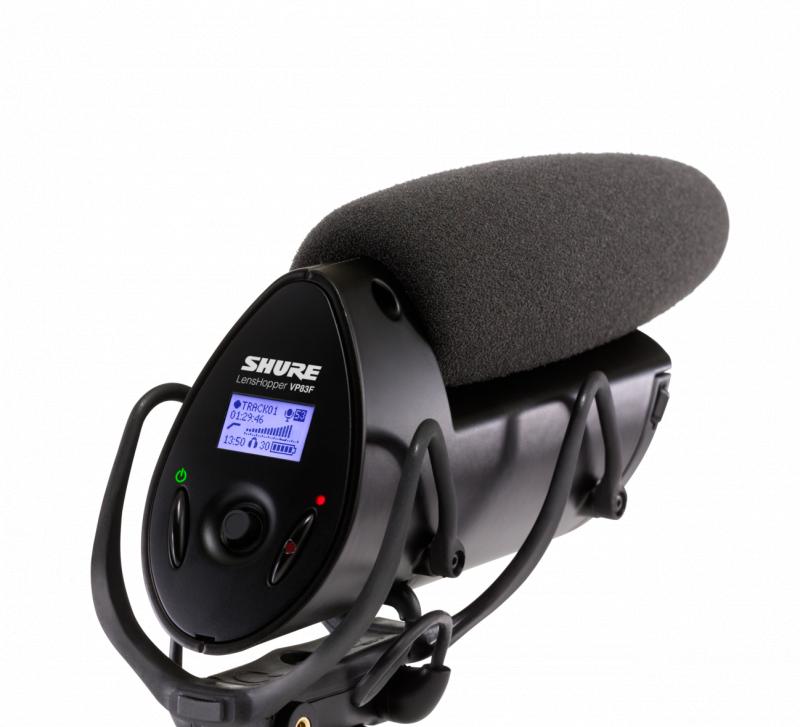 SHURE VP83F LensHopper 攝像機支架集成閃存錄音電容咪高峰