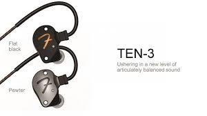 Fender Ten 3 入耳式耳機